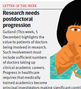 News - BMJ letter of the week